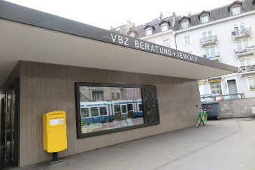 Ticketeria Goldbrunnenplatz